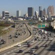Traffic on Multi-Lane Freeway — Stock Photo #9518627