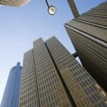Downtown Atlanta Skyscrapers — Stock Photo
