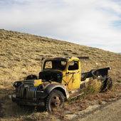 Junk pickup truck. — Stock Photo