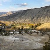 Yellowstone Park, Wyoming. — Stock Photo