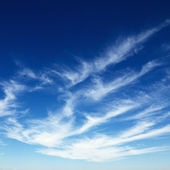 Clouds in blue sky. — Stock Photo