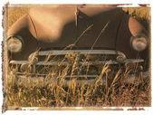 宝丽来转移的车. — 图库照片