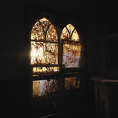 Sunlight through windows. — Foto de Stock