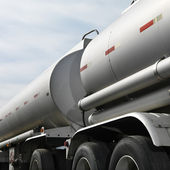 Fuel truck. — Stock Photo