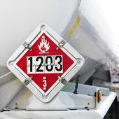 Yakıt işareti. — Stok fotoğraf