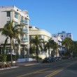 Stock Photo: Art deco district, Miami.