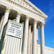 Supreme Court Building. — Stock Photo