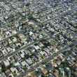 Urban sprawl houses. - Stock Photo