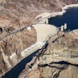Hoover Dam, Lake Mead. - Stock Photo