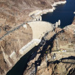 Hoover Dam, Lake Mead. — Stock Photo