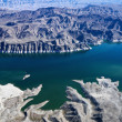 Stock Photo: Aerial of Lake Mead.