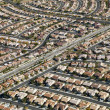Urban housing sprawl. — Stock Photo