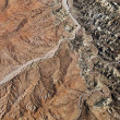 Grand Canyon aerial. - Stock Photo