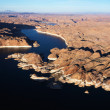Aerial of Lake Powell. — Stock Photo
