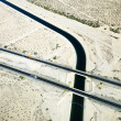 Interstate crossing aqueduct. - Stock Photo