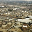 Royalty-Free Stock Photo: Aerial of oil refinery.