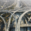 Highway interchange. - Stock Photo
