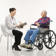 Doctor and patient. — Stock Photo