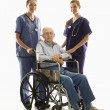 Handicapped man. — Stock Photo #9523598