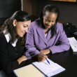 Women working in office. — Stock Photo #9523963