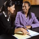 Businesswomen working. — Stock Photo