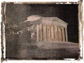 Jefferson Memorial at night. — Stock Photo