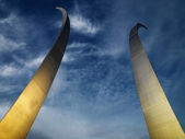 Air Force Memorial. — Stock Photo