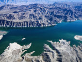 Aerial of Lake Mead. — Stock Photo