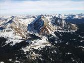 Rocky Mountain aerial. — Stock Photo