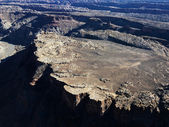 Utah Canyonlands aerial. — Stock Photo