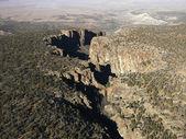 Arizona desert aerial. — Stock Photo