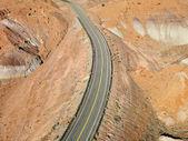 Highway through desert. — Stock Photo