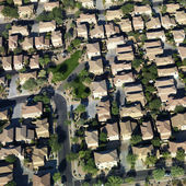 Aerial of suburbs. — Stock Photo