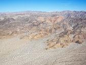 Desert and mountains. — Stock Photo