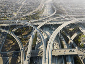 Highway interchange. — Stock Photo