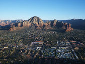 Sedona, Arizona aerial. — Stock Photo