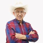 Man in cowboy hat. — Stock Photo