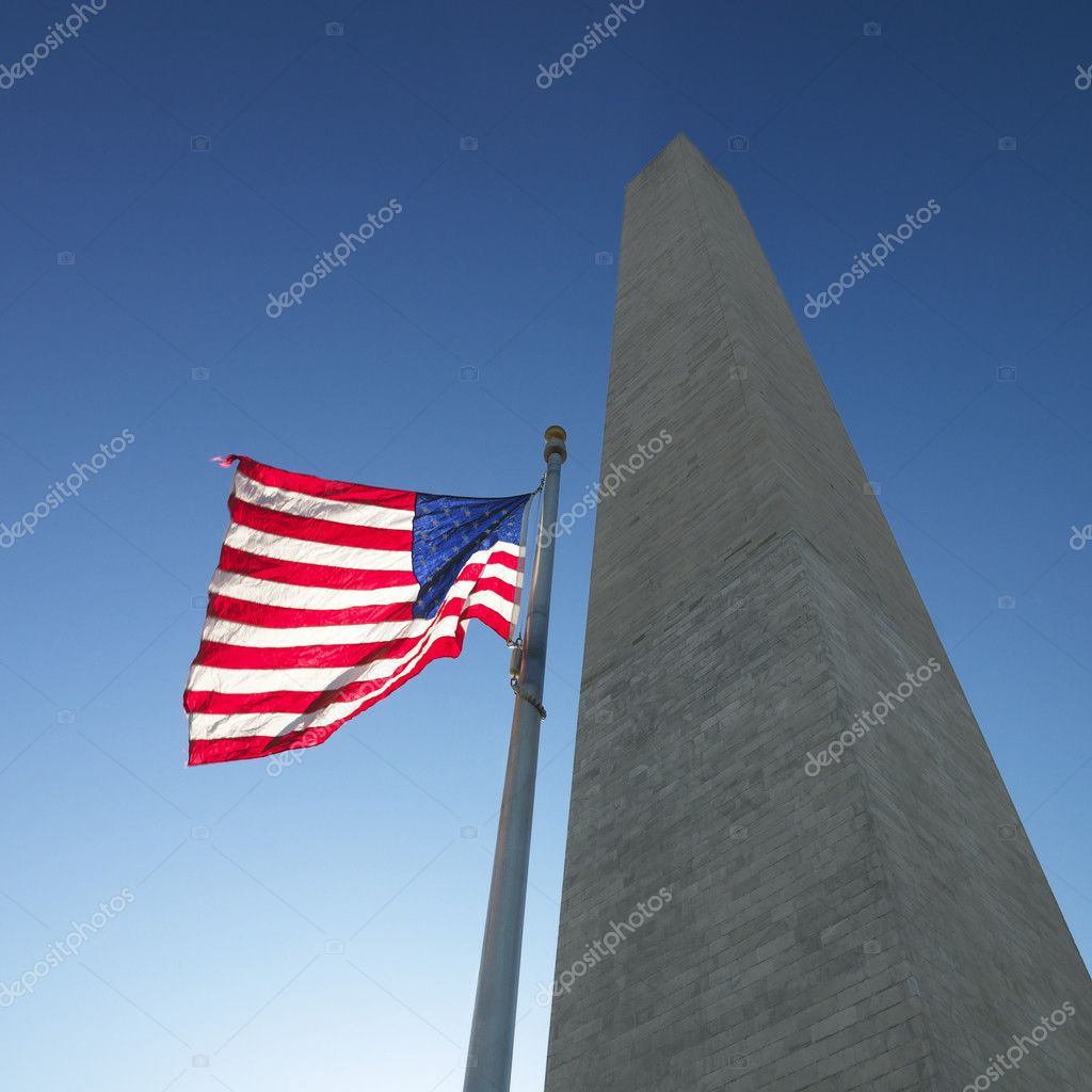 Washington Monument in Washington, DC, USA. — Stock Photo #9521906