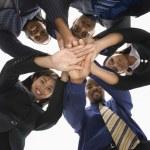 商业团队合作 — 图库照片