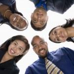 Группа бизнесменов — Стоковое фото