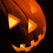 Carved pumpkin. — Stock Photo