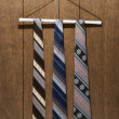 Stock Photo: Retro patterned neckties.