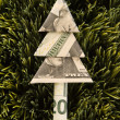 Christmas money tree. — Stock Photo