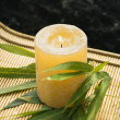 Royalty-Free Stock Photo: Burning candle.