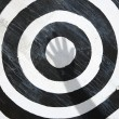 Bullseye target. - Stock Photo