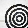 Stock Photo: Bullseye target.