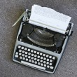 Typewriter. — Stock Photo #9531726