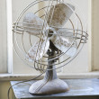 Retro style fan. — Stock Photo