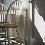 Sunlight lit kitchen. — Stock Photo