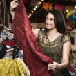 Stock Photo: Young Woman Shopping